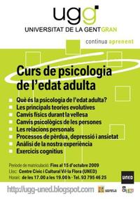 Cartell psicologia UGG 2010-11