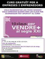 Cartell 10 claus per vendre - 2013