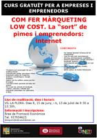 Cartell màrqueting low cost - juny 2015