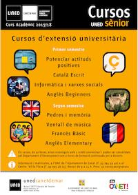 Cartell UNED-UGG - 2017/2018