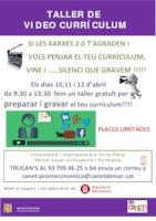 Taller de Vídeo currículum - abril 2017
