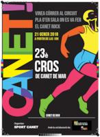 Cartell Cros canet - gener 2018