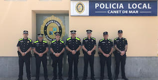 canvi uniforme policia local -caps 5 municipis-