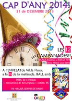 Cartell cap d'any - 2013