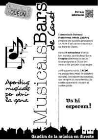 Cartell Bars Concerts - ACPO - 2014