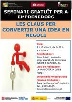Cartell seminari emprenedors 04-2014